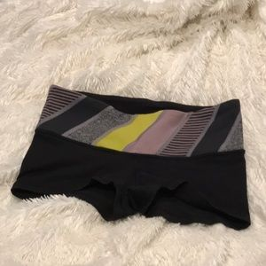 Lululemon reversible spandex shorts